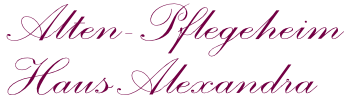 Pflegeheim Alexandra